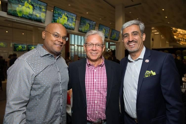 Lloyd Carney, Paul Humphries, Muhammed Chaudhry