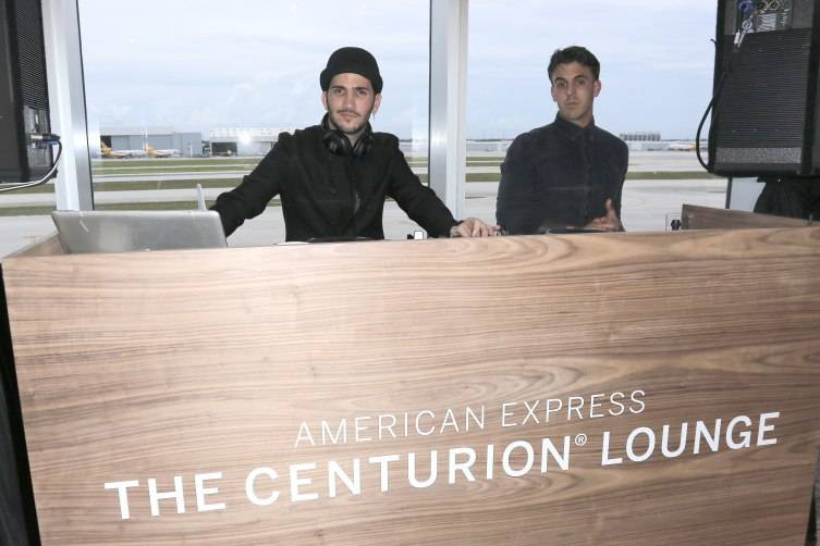Danny Daze performs at The Opening Of The Centurion Lounge as  American Express Celebrates at Miami International Airport on June 2, 2015 in Miami, Florida.  (Photo by John Parra/Getty Images for American Express)