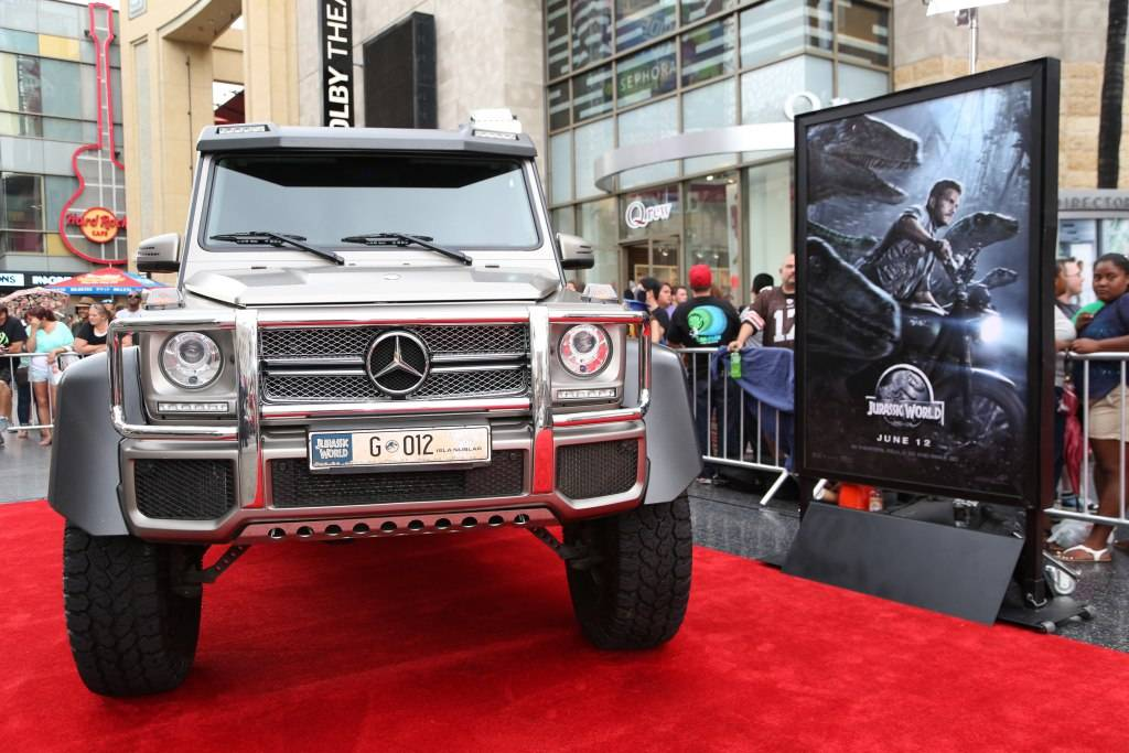 Mercedes-Benz at the Jurassic World premiere
