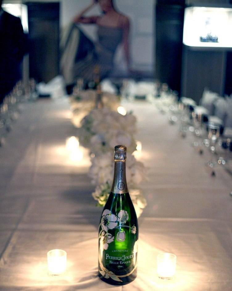 The ambiance at Haute Living Magazine's  dinner in honor of Jada Pinkett Smith o