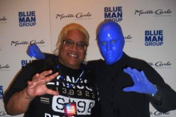 6.23.15_Rikishi at Blue Man Group in Monte Carlo Resort and Casino