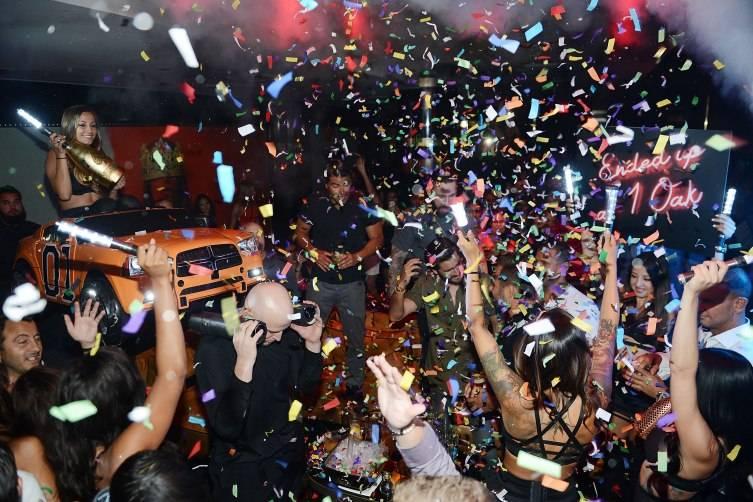 Scott Disick Hosts At 1 OAK Las Vegas Inside The Mirage Hotel & Casino