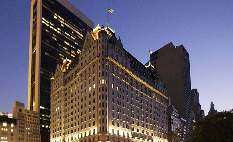 The Plaza Hotel, photo via The Plaza Hotel