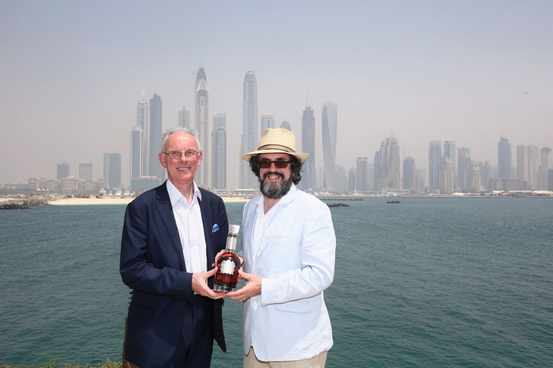 Chivas Regal Master Blender Colin Scott launches Chivas Regal The Icon with whisky guru Dave Broom