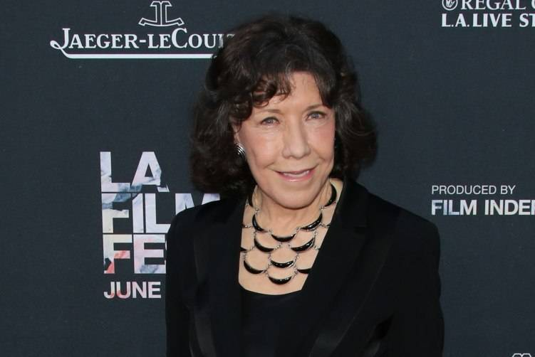 "Lily Tomlin attends the premiere of ""Grandma"" at the Opening Night of the 2015 Los Angeles Film Festival at Regal Cinemas L.A. Live on June 10, 2015"
