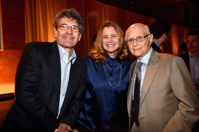 Chairman of the Walt Disney Studios Alan Horn, Cindy Horn and writer-producer Norman Lear