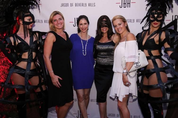 Anita Funtek, Hayley Sloman, VIvian Del Rio, & Iris More