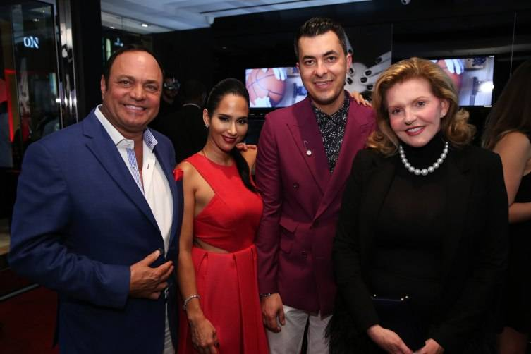 Bobby Castellano, Lisa & Jason Arasheben, & Brenda Nestor Castellano