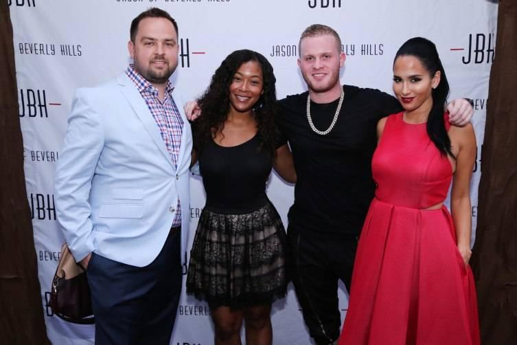 Brandt Branand, Trinidad Mann, Kevin Serillo, & Lisa Arasheben