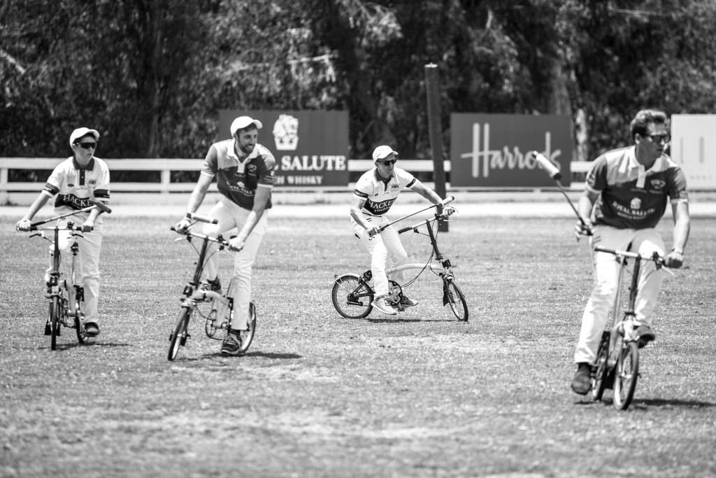 Brompton bicycle polo