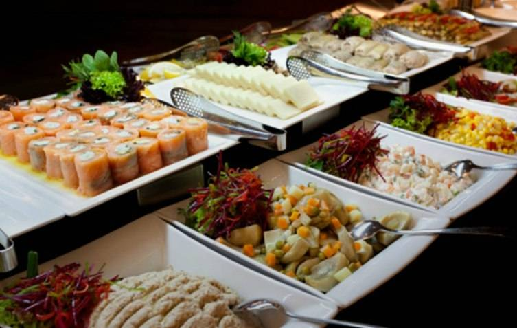 Cafe Momentum does catering as well as dinners in house.