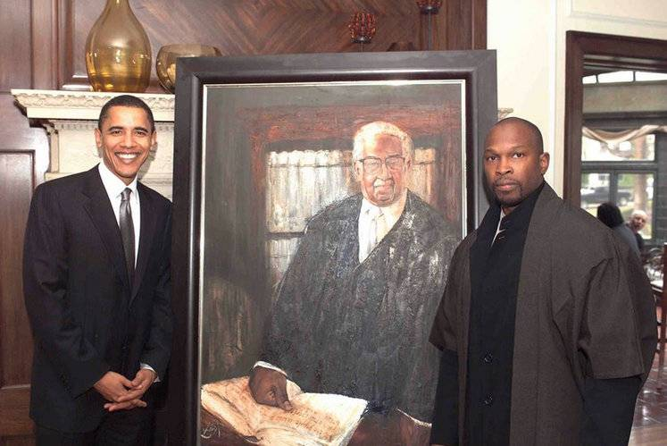 Chaz Guest President Obama