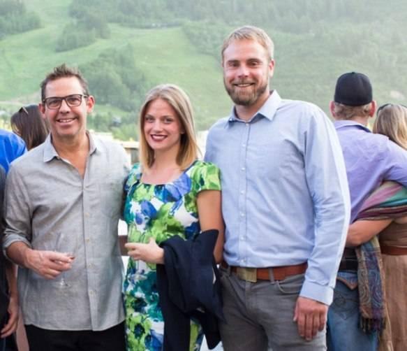 Chef John Tesar, Sarah Palmen and McEvoy Ranch winemaker Blake Yarger