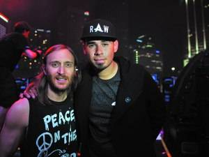 David Guetta and Afrojack  photo by WorldRedEye.com