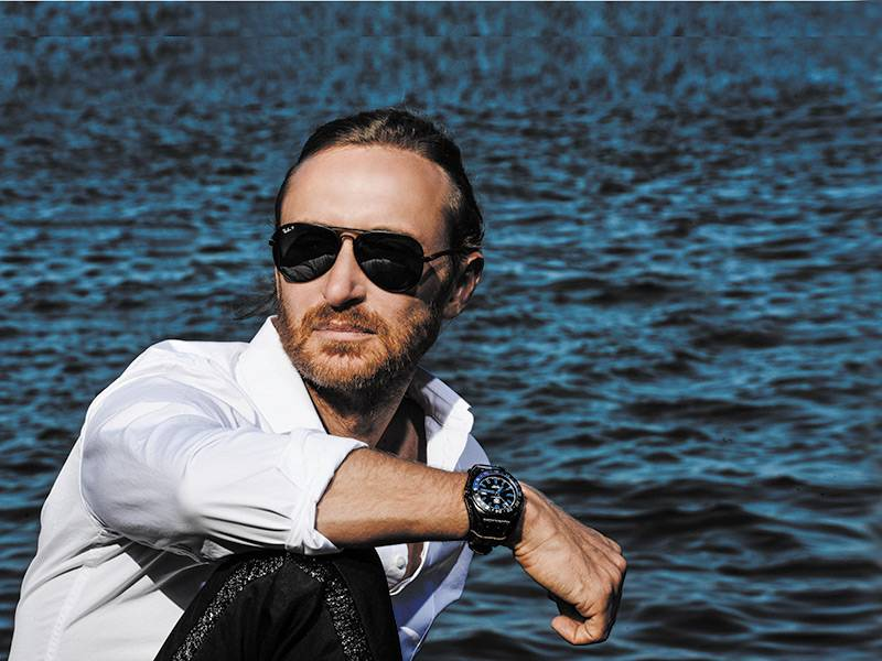 David Guetta, photo by Gio Alma
