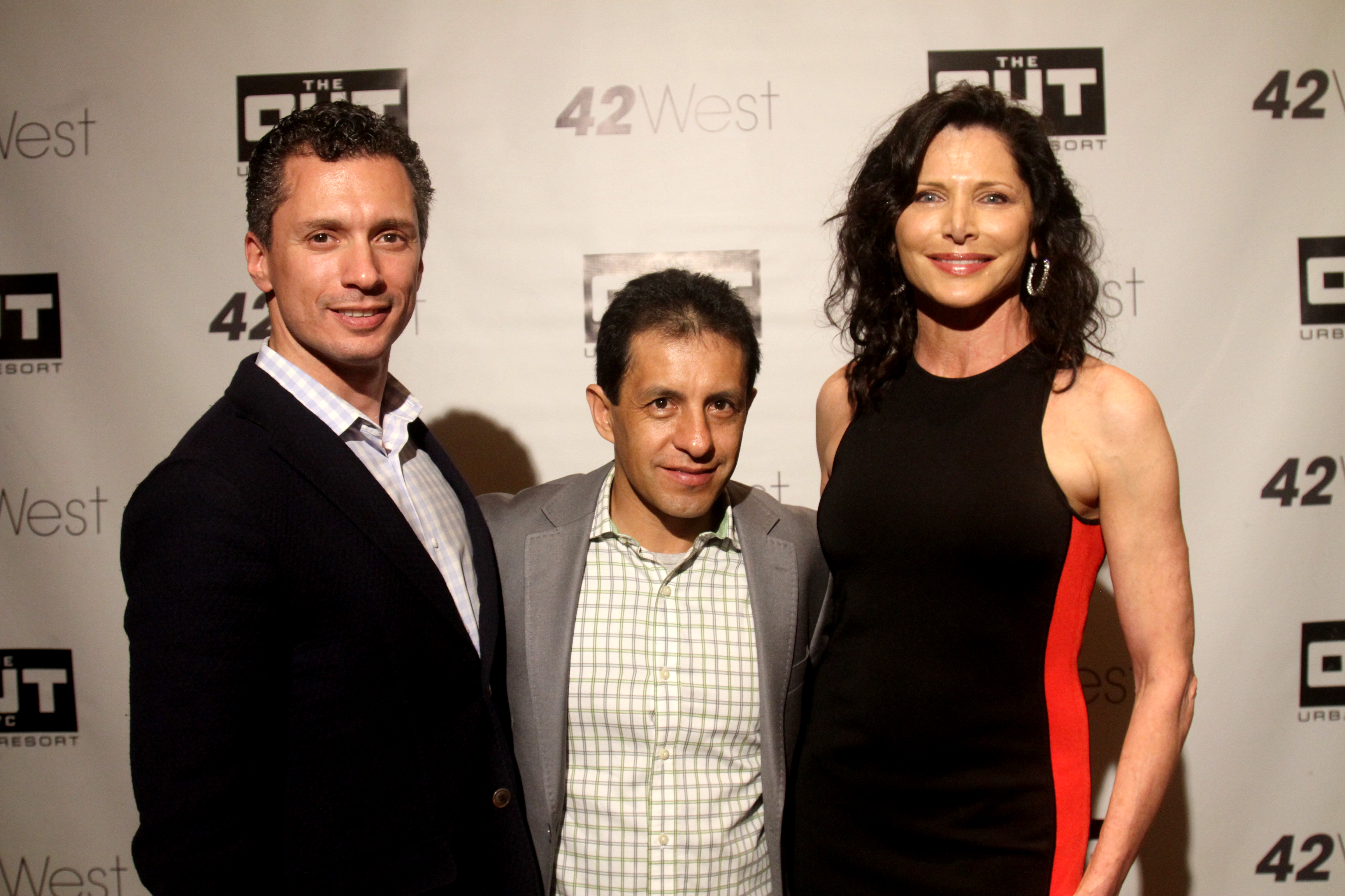 David Noto, Victor Espinoza, Sheila Rosenblum (L-R)