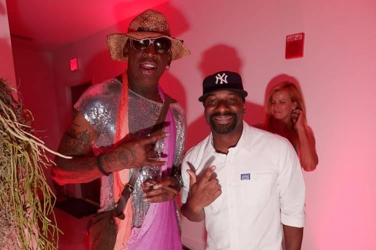 Dennis Rodman & DJ Irie1