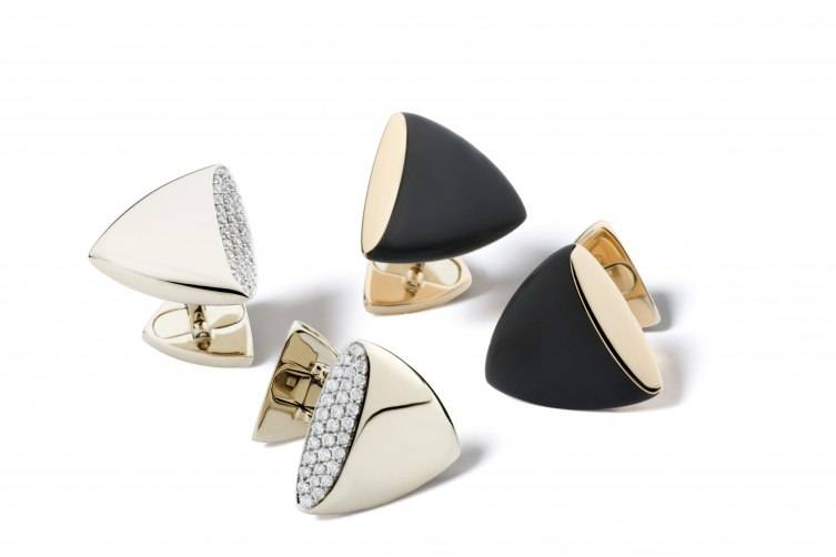 Gemelli Triangle Cufflinks