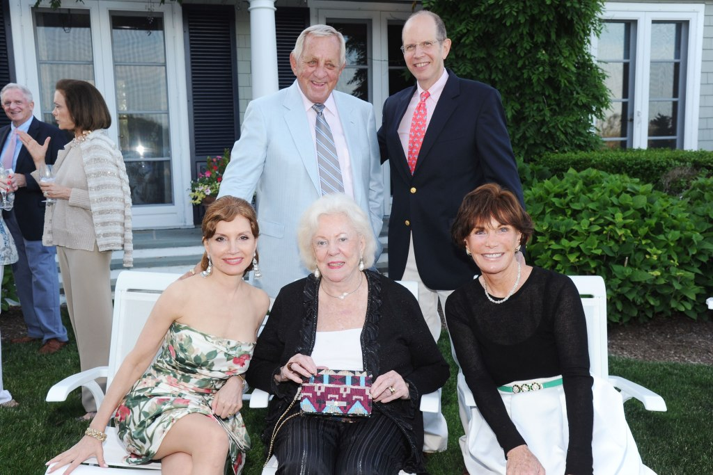 Jean Shafiroff, George Kraus, Jean Little, Bob Chaloner, Patty Kraus