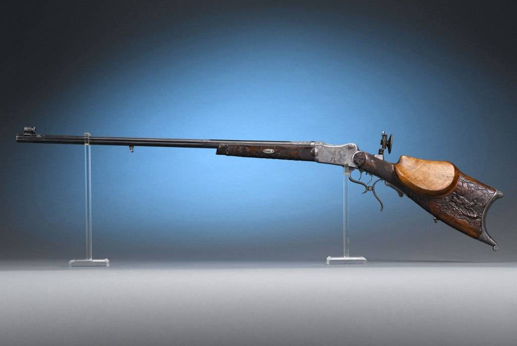 German Schuetzen Sporting Rifle
