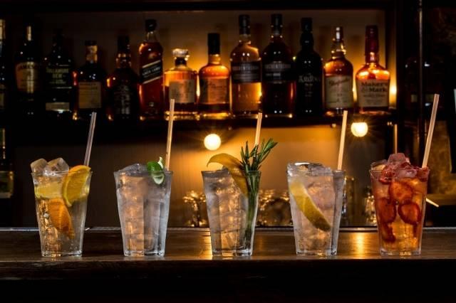 Gin Cocktails AFJ