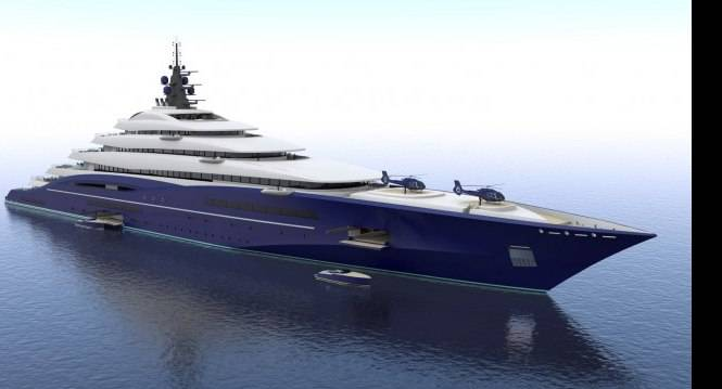 Goundbreaking-200M-gigayacht-DOUBLE-CENTURY-concept-designed-by-Christopher-Seymour-665x359