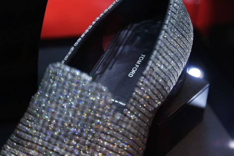 Tom Ford diamond loafers