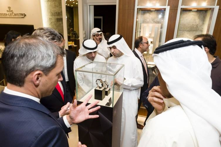 Jaeger-LeCoultre SIHH 2015 reveal in Kuwait copy