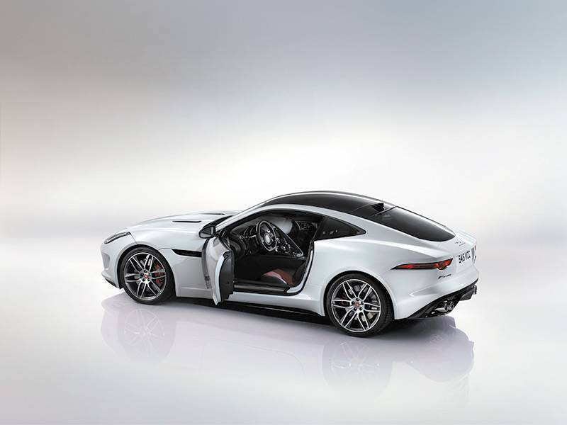2015 Jaguar F-Type R Coup