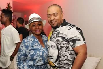 Janice Combs & Timbaland