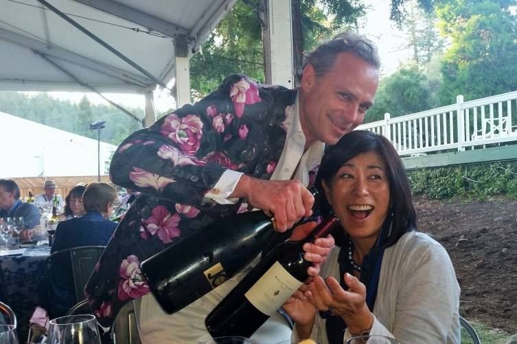 Jean-Charles Boisset and Naoko Dalla Valle