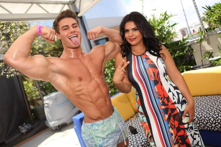 Jeff Seid and Vassy at Ditch Fridays