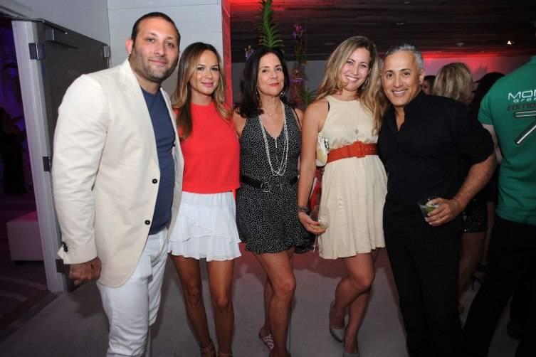 Keith & Evelyn Menin, Linda Levy Goldberg, Shelby Lee Goldberg, & Juan Carlos Arcila-duque