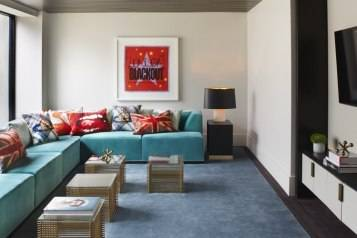 The London West Hollywood's Vivienne Westwood Inspired Penthouse 5