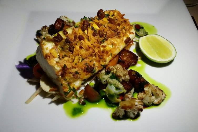 Latin-inspired Cobia at Tantalize