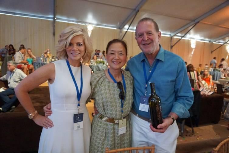 Leslie Frank, Olivia Hsu Decker and Rich Frank