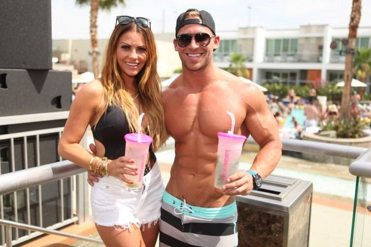 Michelle Money and Cody Sattler at Ditch Fridays