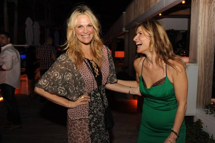Molly Sims and Lauren Kucerak