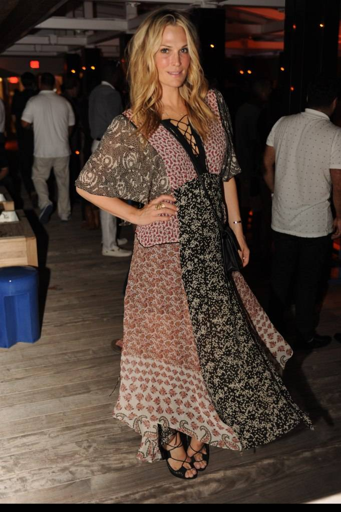 Molly Sims at 1 Hotel South Beach