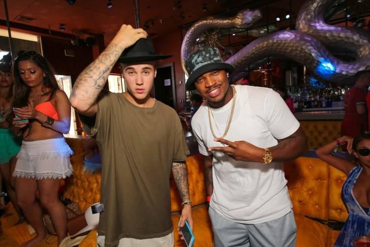 Justin Bieber and Ne-Yo