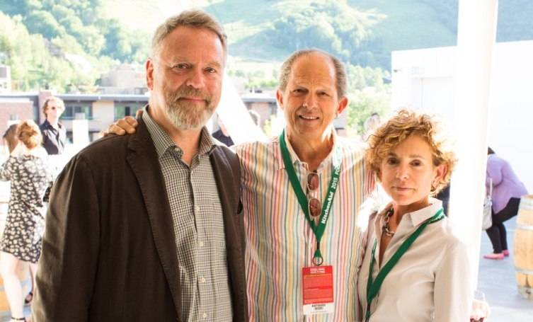 Nion McEvoy,  Jim Horowitz and  Nicole Giantonio