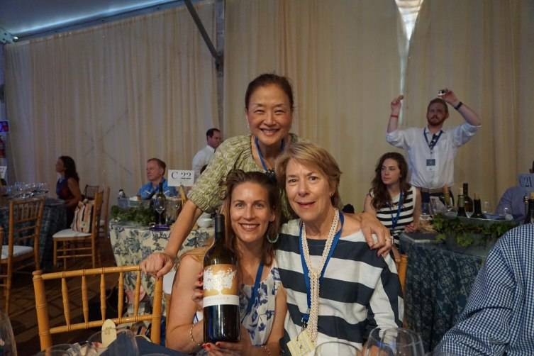 Olivia Hsu Decker, Chiara and Marcia Mondavi (Continuum Estate Winery)