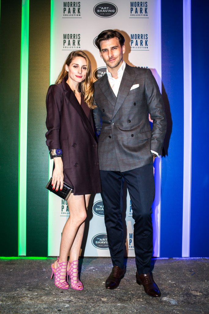 The Art of Shaving celebrates the launch of the Morris Park Collection Razor with Olivia Palermo and Johannes Huebl in New York City.