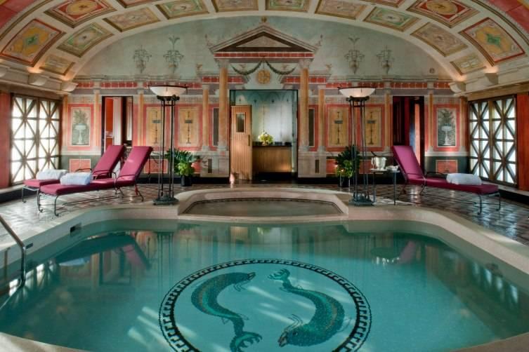 Hotel Principe di Savoia in Milan: Presidential Suite Swimming Pool and Spa
