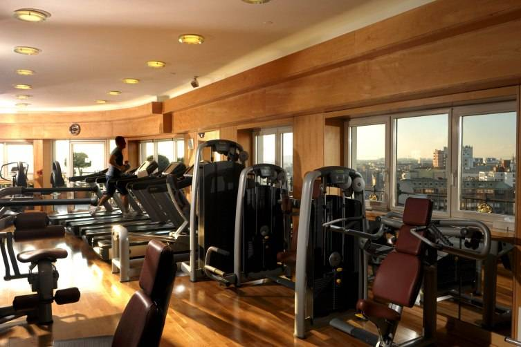 Hotel Principe di Savoia in Milan: Fitness Space and Roof Terrace