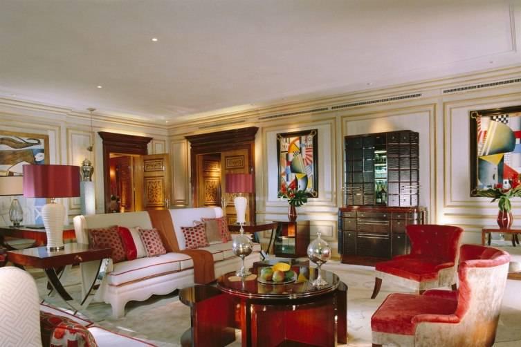 Hotel Principe di Savoia in Milan: Living Room
