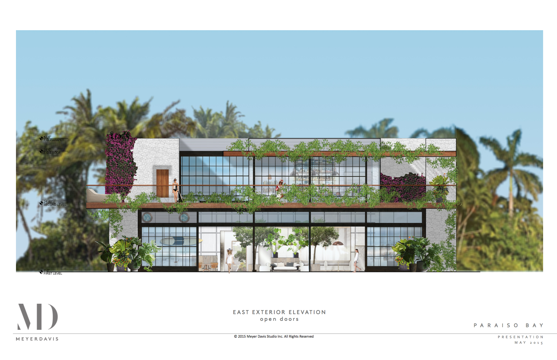 Mia michael schwartz to create restaurant paraiso bay for Architecture firms fort lauderdale