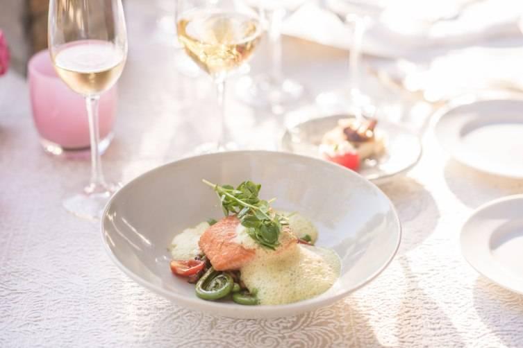 A dish at the Robert Mondavi Winery dinner.