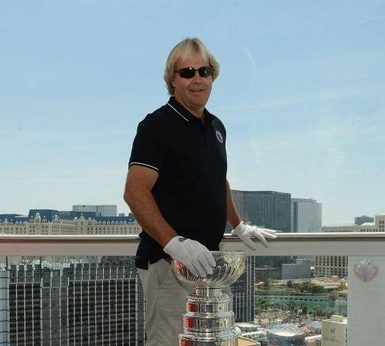 The Prestigious Stanley Cup Trophy Rides Las Vegas Best Attraction The High Roller Observation Wheel 550 feet Above The Las Vegas Strip At The LINQ Promenade
