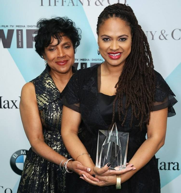 Phylicia Rashad (L) and honoree Ava DuVernay